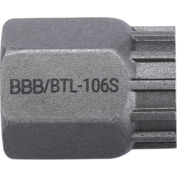 "BBB LockPlug BTL-106S Zahnkranzabzieher 1/2"" silber"