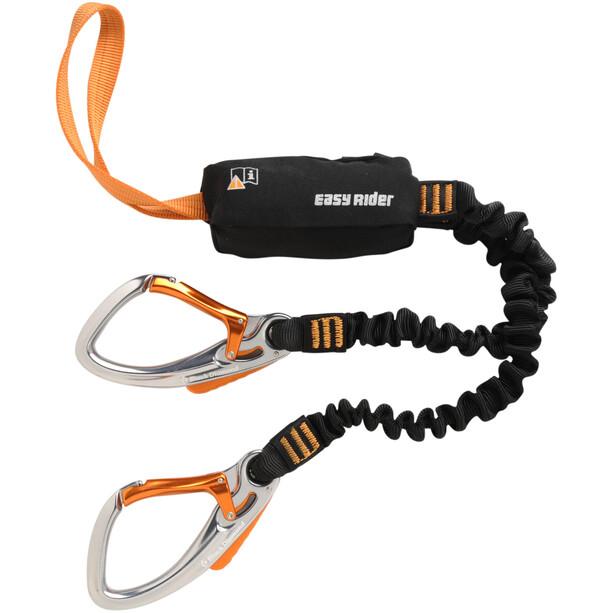 Black Diamond Easy Rider Klettersteigset grau/orange