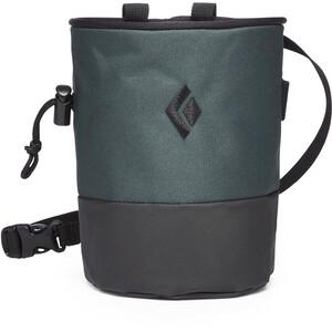 Black Diamond Mojo Zip Chalk Bag S/M grün/grau grün/grau