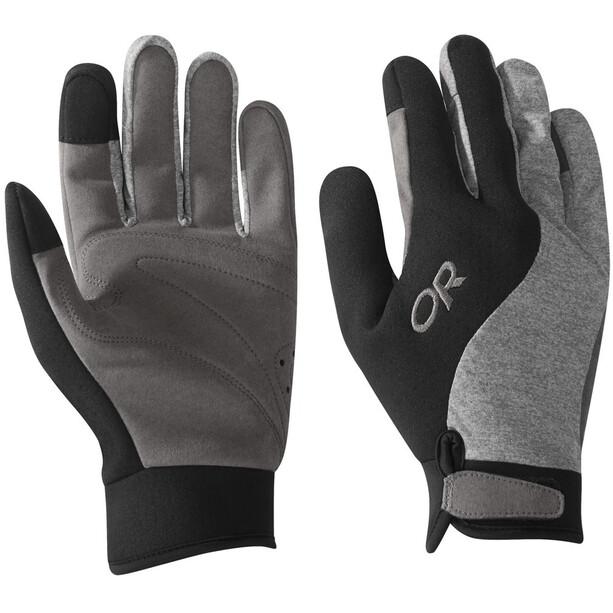 Outdoor Research Upsurge Paddle Handschuhe grau/schwarz