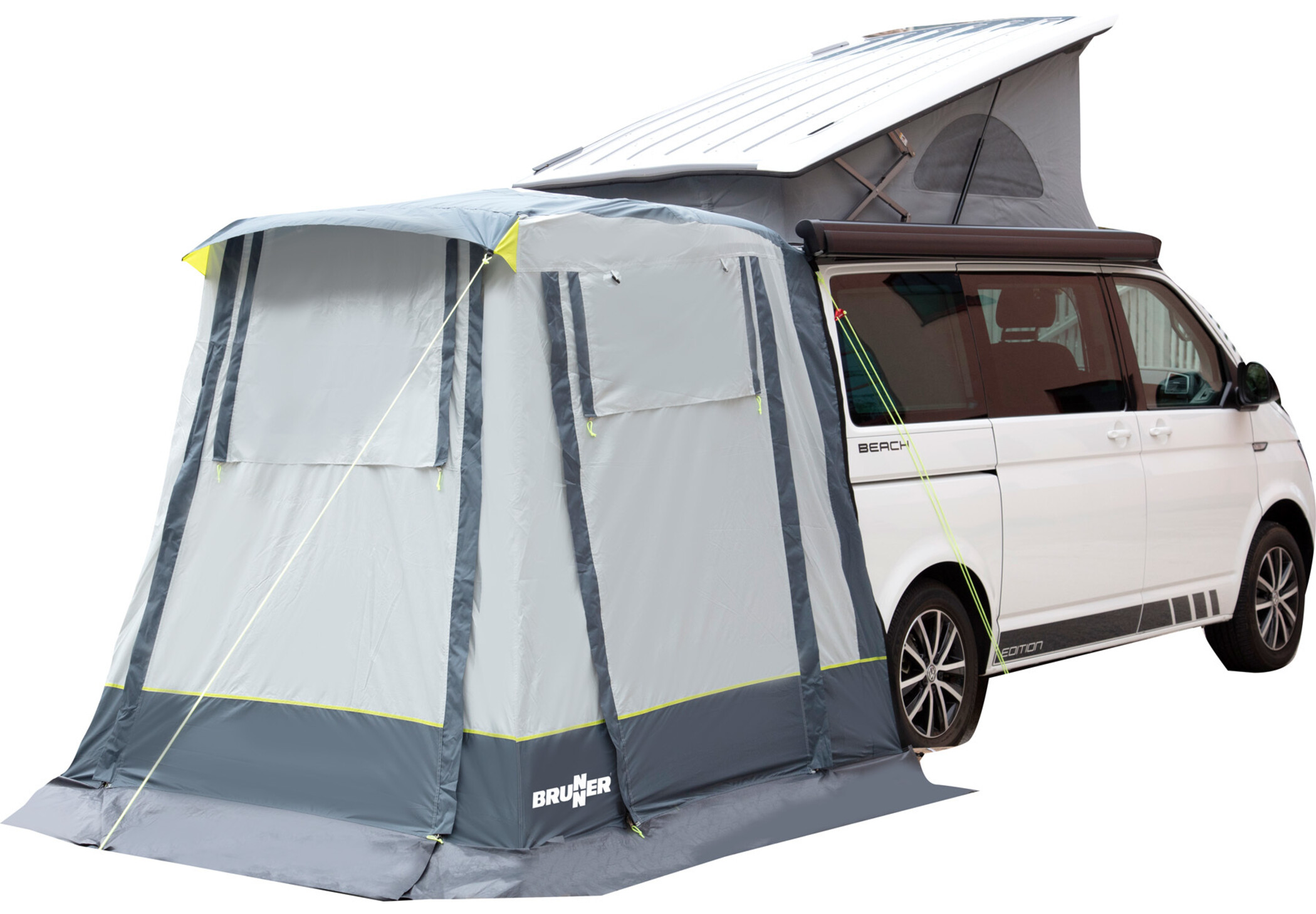 Brunner Comet Tail Gate Tent for VW T5/T6 at addnature.co.uk