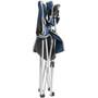 Brunner Armchair Classic schwarz/blau