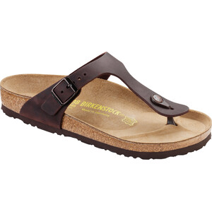 Birkenstock Gizeh Flips Oiled Leather habana habana