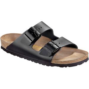 Birkenstock Arizona Sandals Natural Leather black black