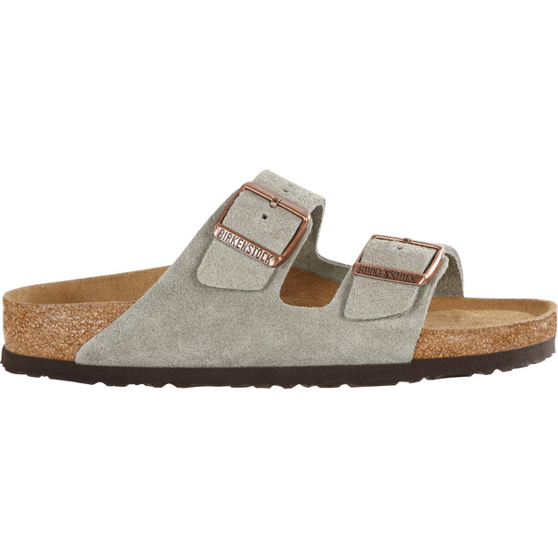 Birkenstock Arizona SFB Sandals Suede Leather taupe