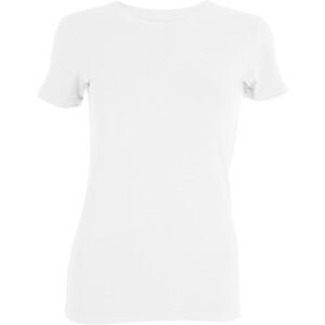 Tufte Wear Crew Neck T-Shirt Femme, blanc blanc