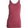 Tufte Wear Light Wool Tank Top Dam roan rouge
