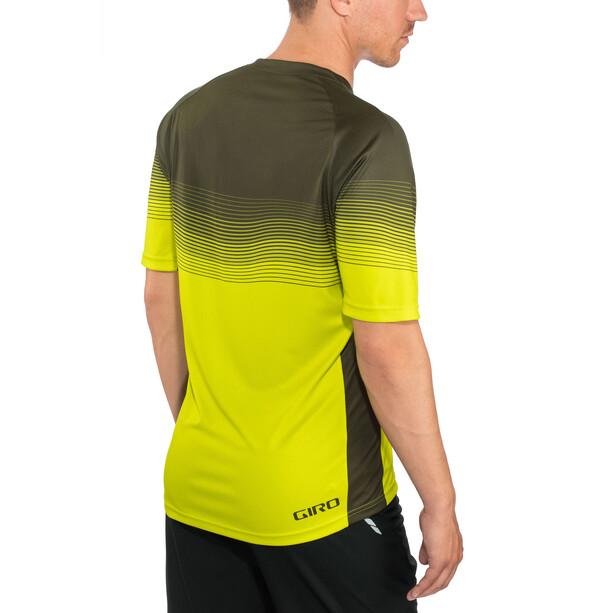 Giro Roust MTB Trikot Herren citron green heatwave