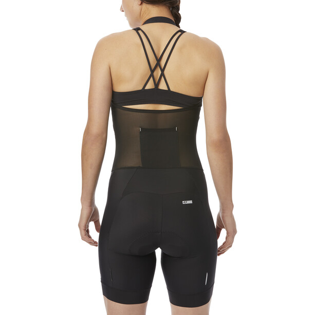 Giro Chrono Sport Cuissard à bretelles Femme, noir
