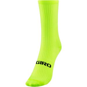 Giro HRC Team Chaussettes, jaune jaune