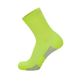 Santini Dryarn Mid-Cut Socken Herren giallo fluo giallo fluo