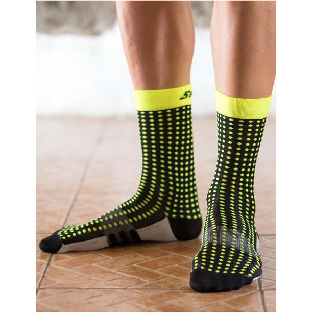 Santini Dryarn Mid-Cut Socken Herren nero
