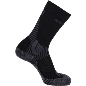 Salomon X Alp Mid-Cut Socken black/forged iron black/forged iron