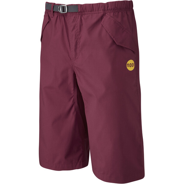 Moon Climbing Cypher Shorts Herr burgundy