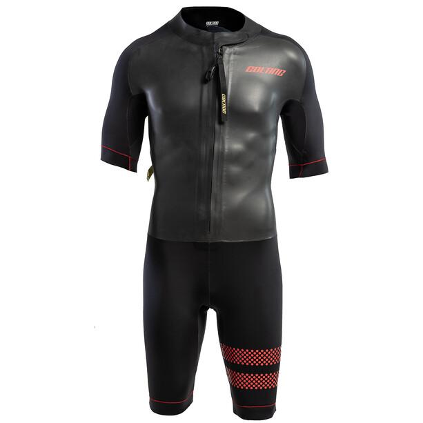 Colting Wetsuits Swimrun Go Wetsuit Herren black/red
