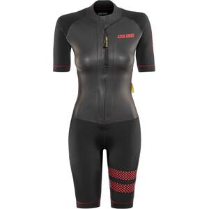 Colting Wetsuits Swimrun Go Combinaison Femme, noir noir