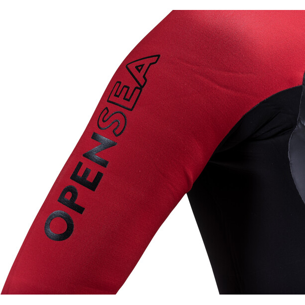 Colting Wetsuits Open Sea Wetsuit Herr black/red