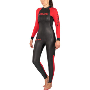 Colting Wetsuits Open Sea Wetsuit Dam black/red black/red