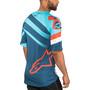 Alpinestars Racer Kurzarm Trikot Herren atoll blue/poseidon blue