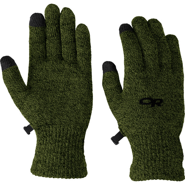 Outdoor Research Biosens Liners Gloves Herr evergreen