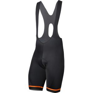 Etxeondo Kom 19 Bib Shorts Herr black-orange black-orange