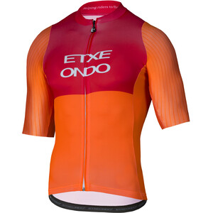 Etxeondo On Aero SS Jersey Herre orange-red orange-red