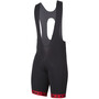 Etxeondo Orhi 19 Bib Shorts Herr black-red
