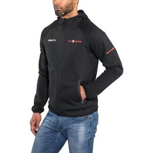 Craft Team Sunweb Hood Herren black black
