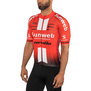 Craft Team Sunweb Aerolight Kurzarm Trikot Herren sunweb red sunweb red