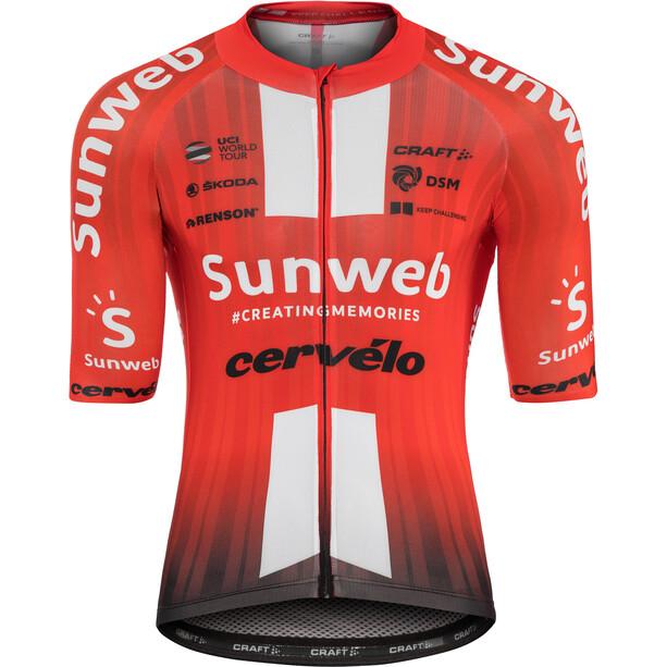 Craft Team Sunweb Aerolight SS Jersey Herr sunweb red