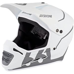 SixSixOne Reset Full Face Helmet tundra white tundra white