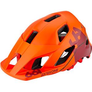 SixSixOne EVO AM Patrol Helm autumn orange autumn orange