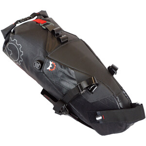 Revelate Designs Terrapin Satteltasche 8l inkl. Wasserdichtem Packsack black black
