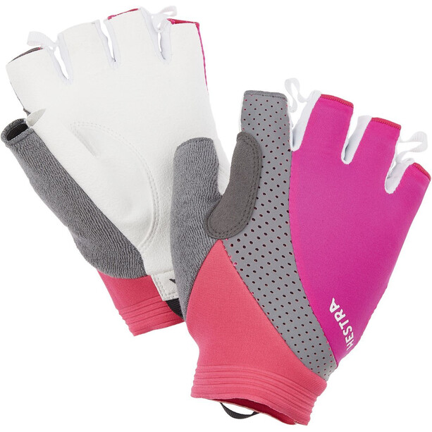 Hestra Apex Reflective Short Finger Gloves fuchsia