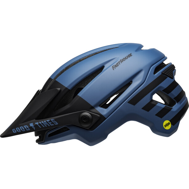 Bell Sixer MIPS Helm fasthouse matte blue/black
