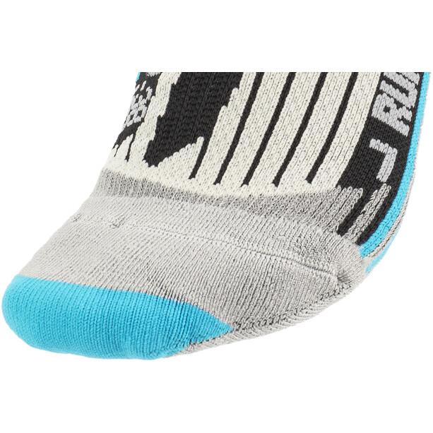 X-Socks Run Speed Two Socken Damen black/turquoise