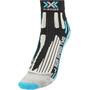 X-Socks Run Speed Two Socken Damen black/turquoise