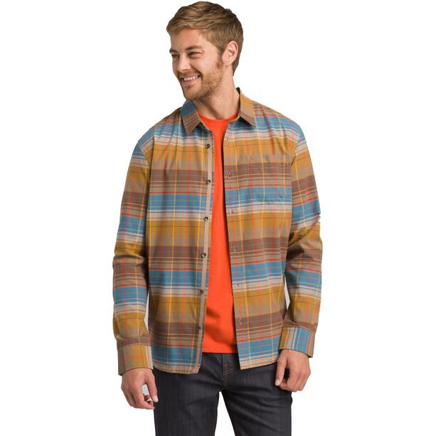 Prana Wyndwell Flannel Shirt Herr driftwood