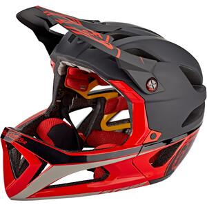 Troy Lee Designs Stage Race MIPS Helm black/red black/red