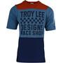 Troy Lee Designs Skyline Air Kurzarm Trikot Herren checkers/heather clay/cadet
