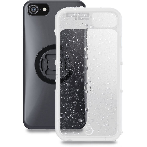 SP Connect Weather Cover iPhone 8/7/6S/6 black/transparent