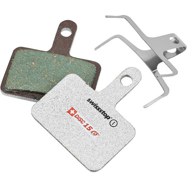 SwissStop Disc 15e Brake Pads for Shimano/TRP/Tektro/Quad E-Bike silver