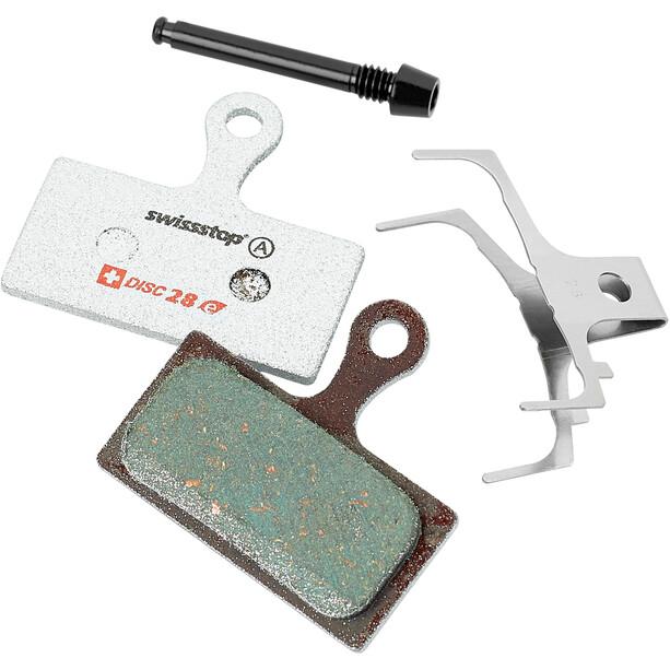 SwissStop Disc 28e Bremsbeläge für Shimano/FSA/Rever E-Bike grün