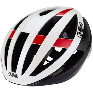 ABUS Viantor Road Helm weiß/rot weiß/rot