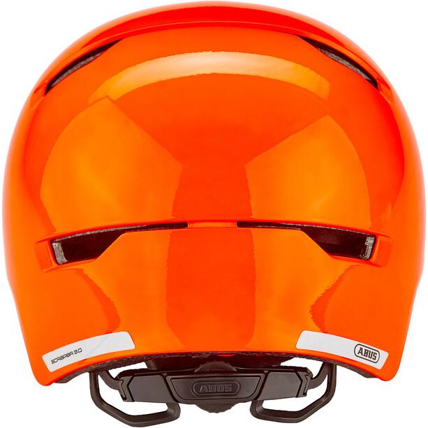 ABUS Scraper 3.0 Helm Kinder shiny orange