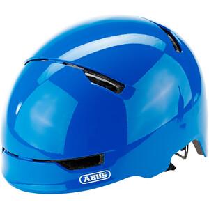 ABUS Scraper 3.0 ヘルメット キッズ シャイニーブルー ※当店通常価格\5690(税込)