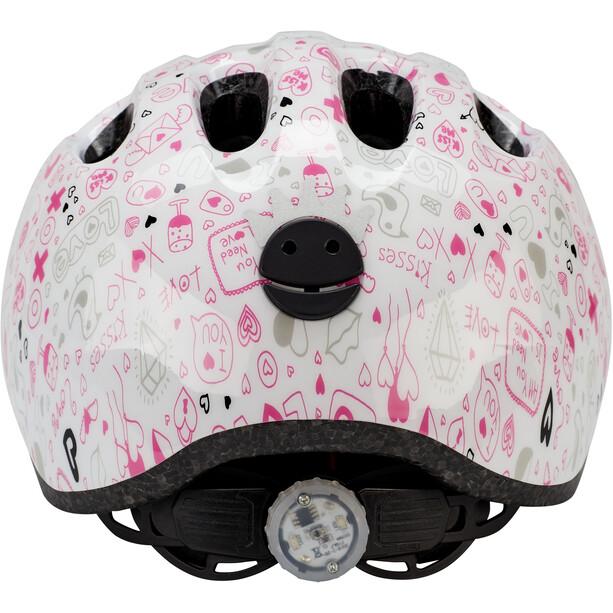 ABUS Smiley 2.1 Helmet Barn white crush