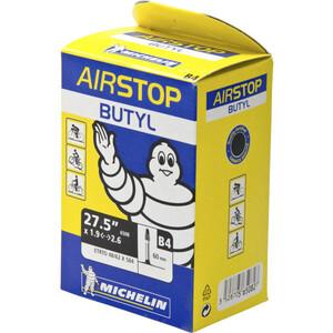 """Michelin Airstop B4 Fahrradschlauch 27.5"""" schwarz schwarz"""