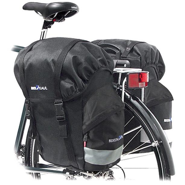 KlickFix Classic Hinterradtasche schwarz