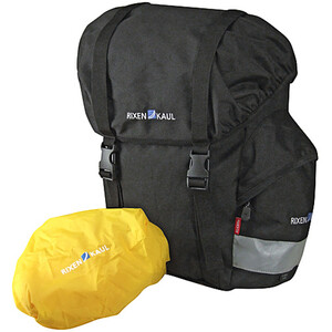KlickFix Classic Hinterradtasche schwarz schwarz